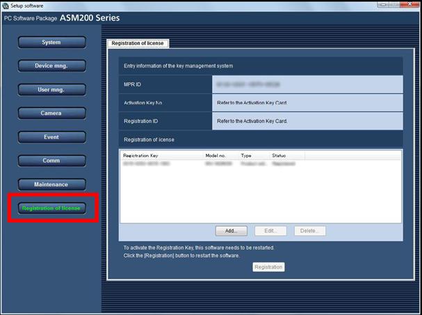 Hướng dẫn] Cài đặt và đăng ký sử dụng phần mềm WV-ASM200 - Giải pháp